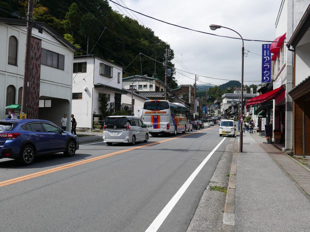 Nikko traffic jam