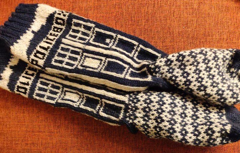 Doctor Who sokken